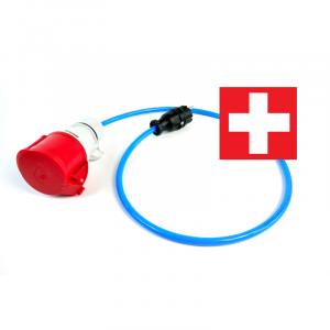 go-eCharger Adapater Schutzkontaktstecker Schweiz