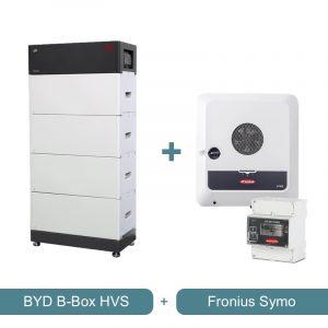 BYD B-BOX HVS + Fronius Symo Wechselrichter