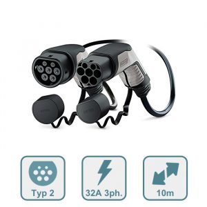Phoenix Contact E-Auto Typ 2 Ladekabel, 32A, 10m