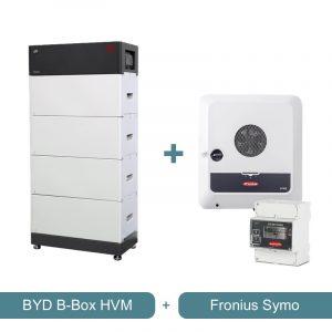 BYD B-BOX HVM + Fronius Symo Wechselrichter