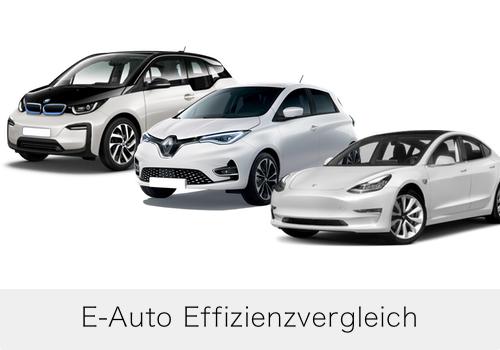 Effizienzvergleich E-Autos