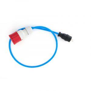Adapter 11 kW HOME+ auf Schutzkontaktstecker
