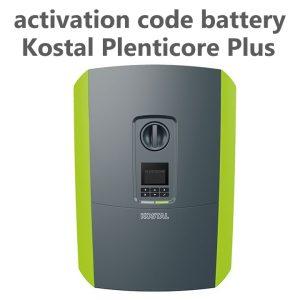 Kostal Plenticore Plus Batterieaktivierung